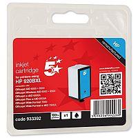 HP Compatible 920XL Black Inkjet Cartridge CD975AE 5 Star