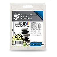 Brother LC-1100 BK/C/M/Y Compatible 4 Colour Ink Cartridge Multipack 5 Star LC1100VALBP