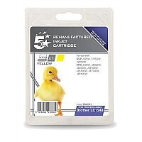Brother LC1240Y Compatible Yellow Inkjet Cartridge 5 Star