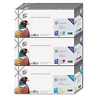 Compatible HP 305A Yellow Laser Toner Cartridge CE412A 5 Star