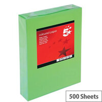 5 Star Deep Green A4 Printer Paper Multifunctional Ream-Wrapped 80gsm 500 Sheets
