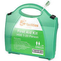 5 Star Traditional Green Box HS2 First-Aid Kit 1-20 People