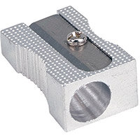 5 Star Office Sharpener Metal 1 Hole 8mm Diameter
