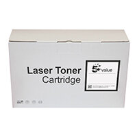 5 Star Value Remanufactured Laser Toner Cartridge Yield 5000 Pages Cyan for HP Printers Ref 940821