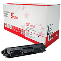 5 Star Office Remanufactured Brother TN-326BK Black Yield 4,000 Pages Laser Toner Cartridge Ref 942261