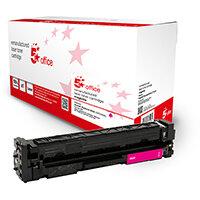 5 Star Office Remanufactured Toner Cartridge Page Life Magenta 2500pp [HP 203X CF543X Alternative]