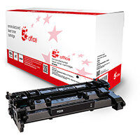 5 Star Office Remanufactured Toner Cartridge Page Life Black 3100pp [HP 26A CF226A Alternative]