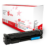 5 Star Office Remanufactured Toner Cartridge Page Life Cyan 2300pp [HP 410A CF411A Alternative]