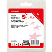 5 Star Office Remanufactured Inkjet Cartridge Page Life Black 2000pp [HP No.953XL L0S70AE Alternative]