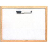 5 Star Lightweight Drywipe Board W400xH300mm Pine Frame