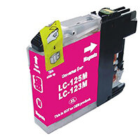 5 Star Value Remanufactured Inkjet Cartridge Page Life 600pp Magenta [Brother LC123M Alternative]