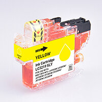 5 Star Value  Remanufactured Inkjet Cartridge Page Life 1500pp HY Yellow [Brother LC3219XLY Alternative]