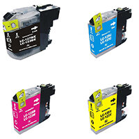 5 Star Value Remanufactured Inkjet Cartridge Page Life 600pp B/C/M/Y [Brother LC123 Alternative] [Pack 4]