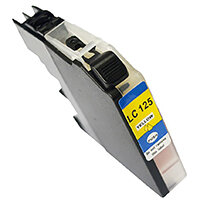 5 Star Value Remanufactured Inkjet Cartridge Page Life 1200pp HY Yellow [Brother LC125XLY Alternative]