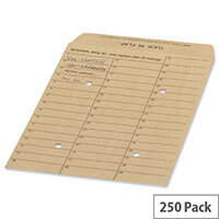 New Guardian Internal Mail C4 Envelopes Manilla 130gsm (Pack of 250)