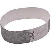 Announce Wrist Bands 19mm Silver AA01838