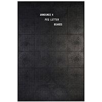 Announce Peg Letter Board 920 x 615mm 1/ECON-4/VC/EC-KIT692