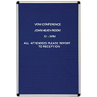 Announce Groove Letter Board 600 x 900mm 1/SR-9060/P/SS/GU/PS 19MM