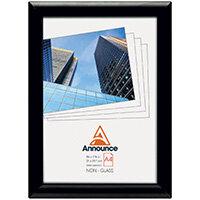 Announce Snap Frame A4 Black AA06222