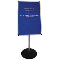 Announce Groove Letter Board with Stand AA847001