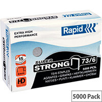 Rapid SuperStrong Staples 73/6mm 5M G
