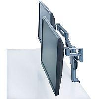 "Kensington Smart Fit Dual Monitor Arm VESA Mount Compatible for up to 24"" Screen"