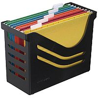 Atlanta Res Recycled Office Box c/w 5 Files Black A658026998
