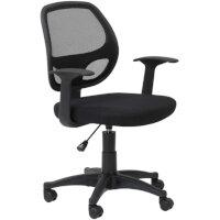 Alphason Office Chair Davis Black Mesh