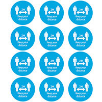 Avery Social Distancing Badges Pack of 48 COVNAM51C
