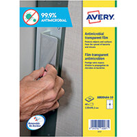Avery Removable A4 Antimicrobial Film Labels Pack of 40 AM004A4