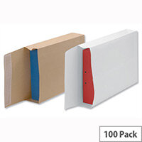 New Guardian Armour Gusset Envelopes 470x300x70mm Manilla 130gsm Peel and Seal Pack of 100