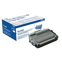 Brother TN-3480 Black High Capacity Toner Cartridge TN3480 - High quality genuine Brother cartridge - Prints 8,000 pages - Prevents waste to save you paper, time and money