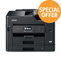 Brother MFC-J5730DW A3 Multifunction All-in-One Inkjet Printer - Colour - Wired & Wireless - Copier/Printer/Scanner - Colour: Black MFCJ5730DW