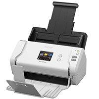 Brother ADS-2700W Wireless A4 High-Speed Desktop Document Scanner, Scan Speeds up To 35ppm, Touchscreen LCD, Duplex Scanning