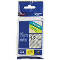 Brother P-Touch 12mm Black on Clear TZE131 Labelling Tape