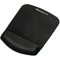 Fellowes Plushtouch Mousepad Wrist Support Black 9252003