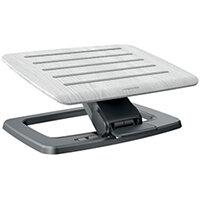 Fellowes Hana Foot Support Adjustable Grey 8055801