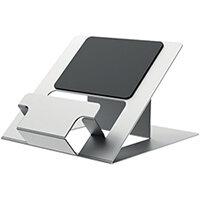 Fellowes Hylyft Portable Laptop Riser Silver 5010501