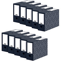 Bankers Box 100mm Transfer File Pack of 5 Buy 1 Get 1 Free 4482901