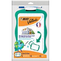Bic Velleda Eco Board 210 x 310mm Green Frame Marker and Eraser 967261