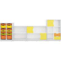 Quadro - Furniture Set 86 Maple & White