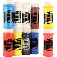 Brian Clegg CleanART Acrylics 500ml Assorted Pack of 10 AK0850010