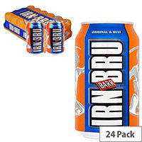 Irn Bru Soft Drink Cans (Pack of 24)