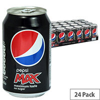Pepsi Original Max Coca Cola Soft Drink Cans 330ml Pack 24 A01100