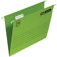 Elba Suspension File Vflex Vbtm A4 Green Pack of 25 100331150