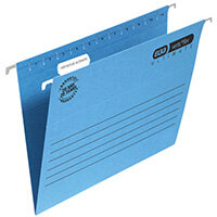 Elba Suspension File Manilla Foolscap Blue Pack of 25 100331168