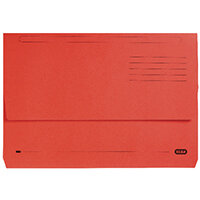 Elba StrongLine Document Wallet Bright Manilla Foolscap Red Pack of 25 100090136