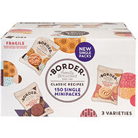 Border Biscuits Single Packs Pack of 150 A08071