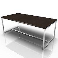 Rectangular Reception Coffee Table Wenge