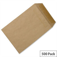 C5 Manilla Envelopes Pocket Self Seal 115gsm Pack 500 5 Star